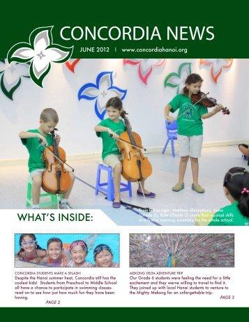 downloaded here - Concordia International School Hanoi