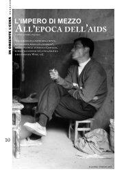 L'impero di mezzo all'epoca dell'Aids, di Paolo Affatato - Aidos