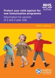 Protect your child against flu: new immunisation programme ...