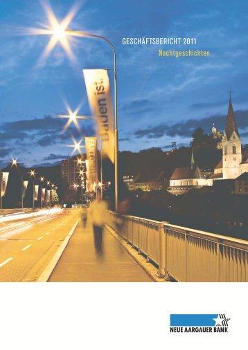NAB-Geschäftsbericht 2011 - Neue Aargauer Bank
