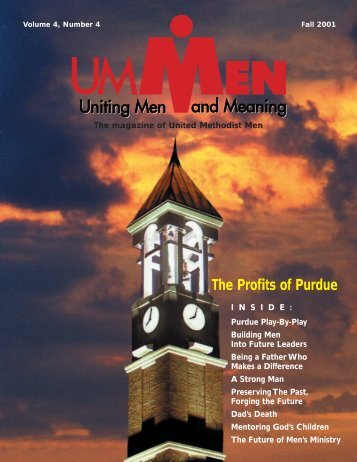 Fall 2001, No. 4 - United Methodist Men