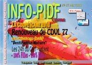 Info PIDF n°52 - Ligue Paris Ile de France de Vol Libre - FFVL