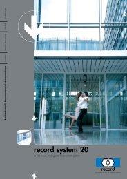 System 20 - WT Thielemann