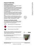 Merkblatt Umgang mit Gefahrstoffen - Page 3