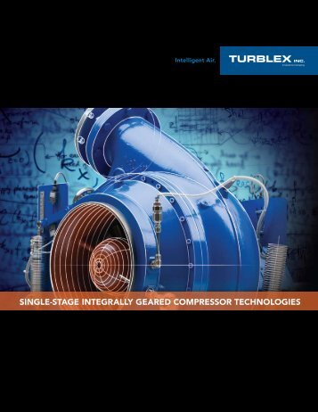 single-stage integrally geared compressor technologies