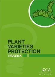 Plant Varieties Protection Infopack - Intellectual Property Office of ...