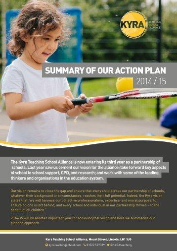 Kyra-Action-Plan-Summary-2014-15