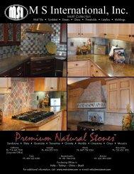 M S International, Inc. - Natural Stone
