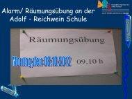 Sammlepunkt 1 Hof A-Bau - Adolf-Reichwein-Schule
