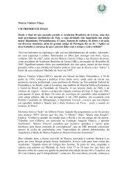 Entrevista com o Acadêmico Marcos Vilaça ao Jornal - Academia ...