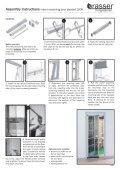 Montagehandleiding hor 1000 plisséhordeur - Schadebo - Page 2