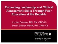 Enhancing Leadership and Clinical Assessment Skills ... - RPNAO