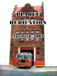 Page 1 Page 2 Plaque Dedication Squad Co. 252 April 5, 2003 ...