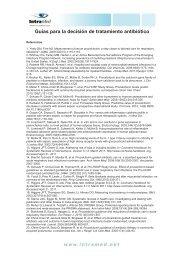 Guías para la decisión de tratamiento antibiótico - IntraMed
