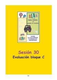 Sesión 30 Evaluación bloque C - Catedu