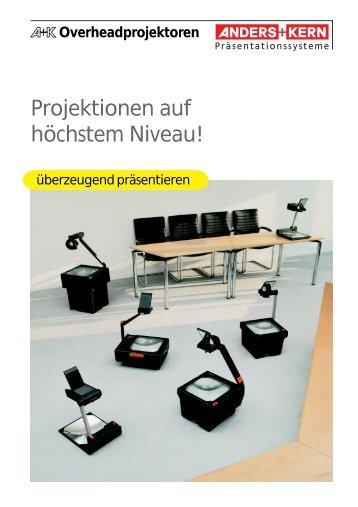 Datenblatt A+K Overheads - Kreismedienzentrum Waldshut