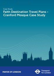 Faith Destination Travel Plans - Cranford Mosque Case Study