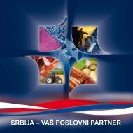 Brošura Srbija - vaš poslovni partner, pdf 5,61 MB - Privredna ...