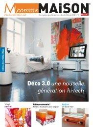 Déco 3.0 une nouvelle génération hi-tech - M comme Maison
