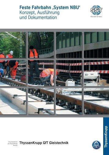 Feste Fahrbahn 'System NBU - Naumburger Bauunion GmbH & Co ...