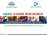 ISRAEL A HOME NEW WORLD