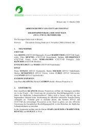 Protokoll - The Social Partners of Rural Service Contractors