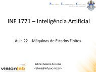 Aula 22 - Máquinas de Estados Finitos - Edirlei Soares de Lima