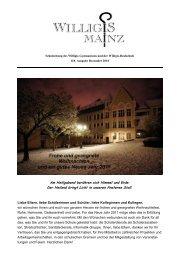 Schulzeitung Dezember 2010 - Bischöfliches Willigis Mainz