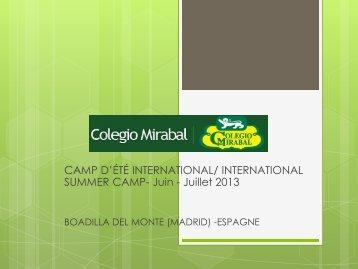 Cours d'espagnol - Colegio Mirabal