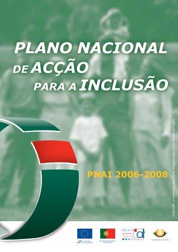Plano Nacional de Acção para a Inclusão 2006-2008 - Instituto ...