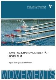 idræt og idrætsfaciliteter på bornholm - Syddansk Universitet