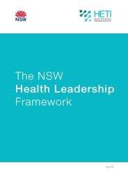 The NSW Health Leadership Framework - HETI