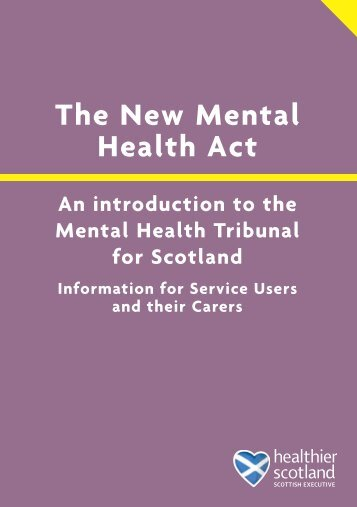 An introduction to the Mental Health Tribunal for Scotland