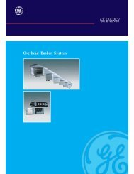 Download Brochure - GE Industrial Systems