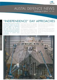 Austal Defence News - March 2008 - Austal Ships