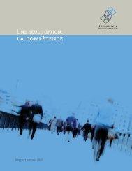 la compétence - Chambre de la sécurité financière