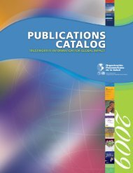 Veterinary Medicine - PAHO Publications Catalog