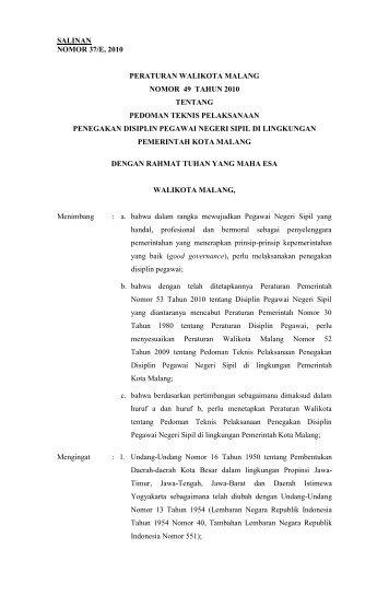 Download - Pemerintah Kota Malang