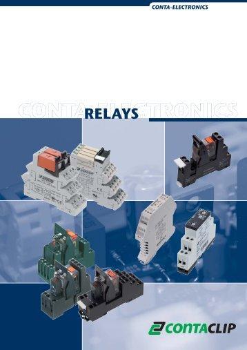 RELAYS - CONTA-CLIP