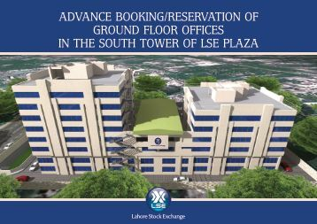 advance booking/reservation of ground floor offices in the south ...