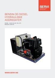 Diesel/hydraulisk aggregat - PMCCatalogue