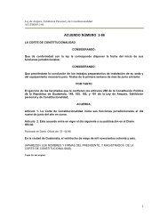 1 ACUERDO NÚMERO 2-86 - Corte de Constitucionalidad
