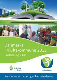 Danmarks Friluftskommune 2013 - Friluftsrådet