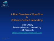 A Brief Overview of OpenFlow & Software-Defined Networking