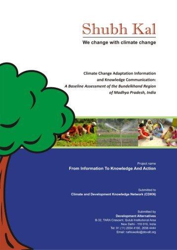 Baseline Assessment Report - CDKN Global