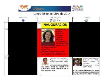 programa general UNAM 4CNICC 2014