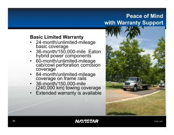 Navistar presentation - 5/20/11 (Alternative fuel ... - North Florida TPO