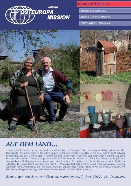 AUF DEM lAnD… - Osteuropamission Schweiz
