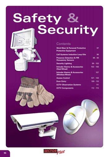 Safety & Security - WF Senate
