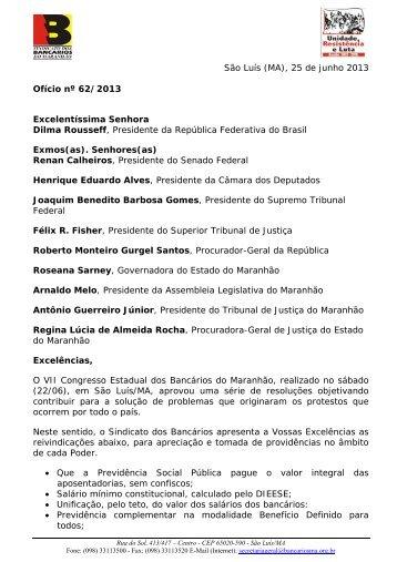 Confira as resoluções do Congresso - Sindicato dos Bancários do ...